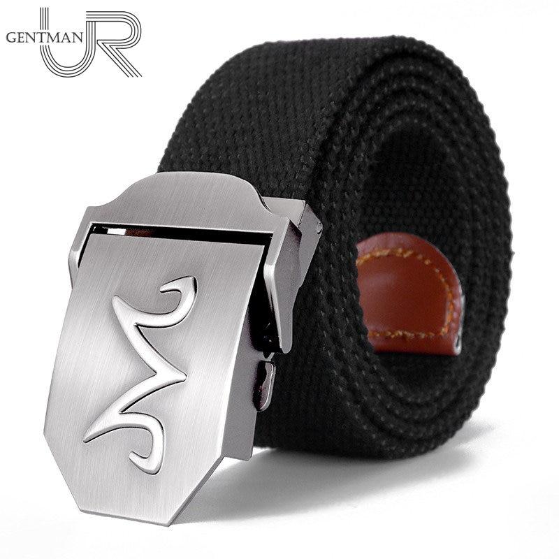 New Dragon Ball Majin Buu Belt High Quality 3D M Letter Canvas Belt Man Women Luxury Military Tactical Belts Casual Jeans Belt