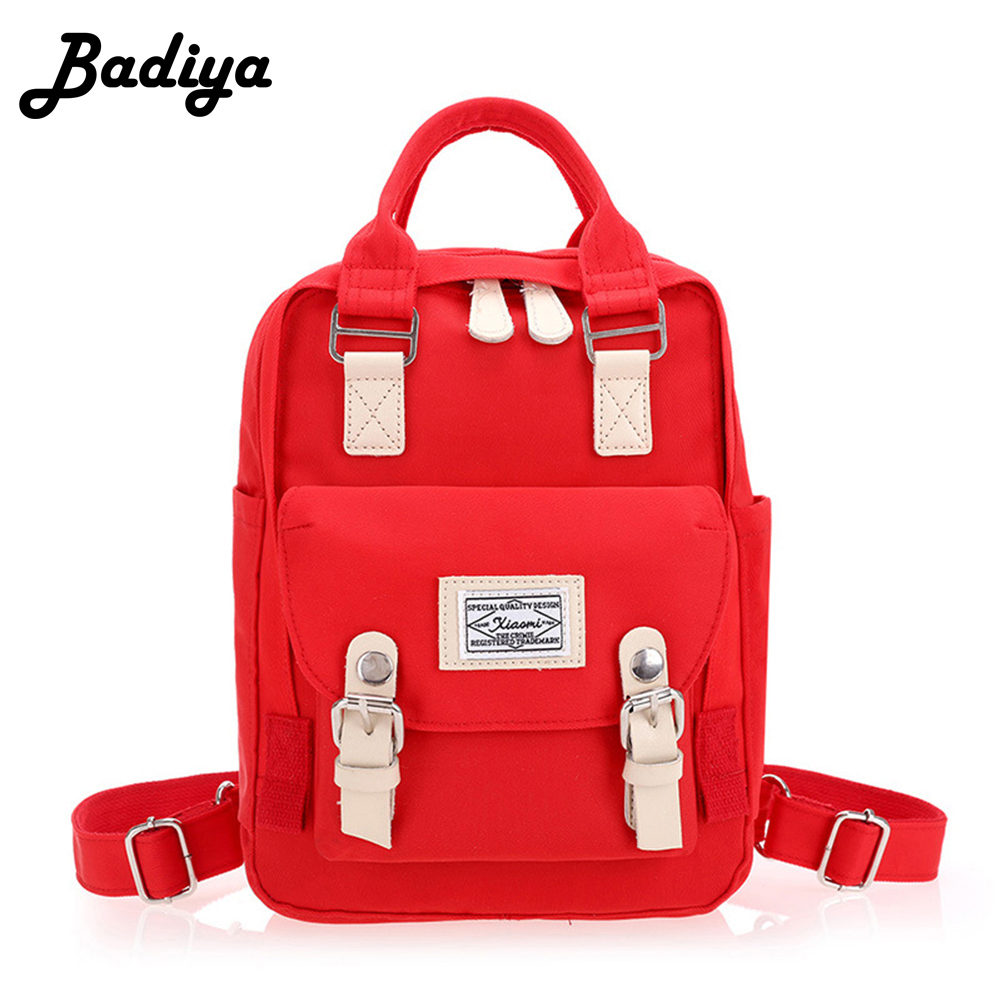 Oxford Canvas Women Backpack Solid Big Capacity School Bags For Teenagers Letter Printing Travel Backpacks Shoulder Bag