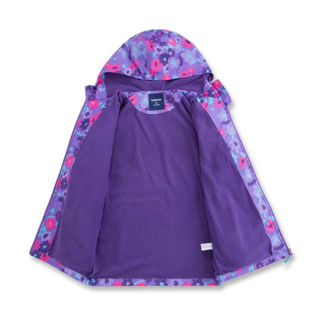 2018 בנות ילדי סתיו האביב מזדמן ילדי מעילי מעיל רוח לנערות הלבשה עליונה מעיל עמיד למים Windproof פעמיים סיפון