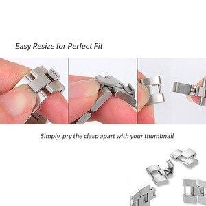 Image 2 - 20mm 22mm Diamant Metalen Band Voor Samsung Gear Sport S2 S3 Galaxy Horloge 42mm 46mm Actieve band Voor Amazfit Bip Huawei GT 2 Pro