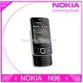 Reformado teléfono celular original de nokia n96 n96 16 gb de almacenamiento de 3g gps wifi 5mp cámara envío gratis