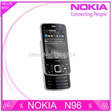 Refurbished N96 Original handy Nokia N96 16 GB Speicher 3G WIFI GPS 5MP Kamera-freies Verschiffen