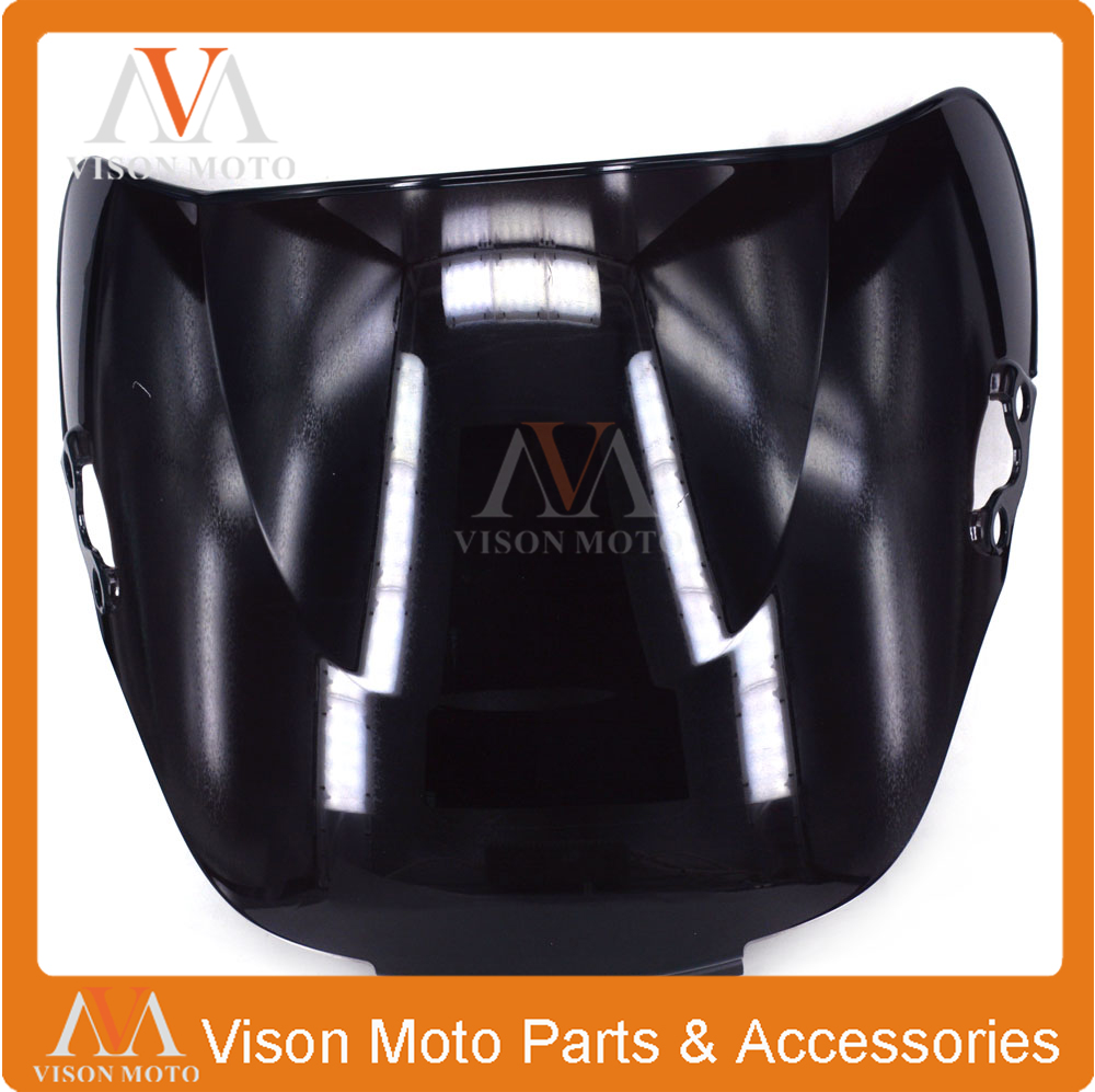 Motorcycle Winshield Windscreen For HONDA CBR600 CBR 600 F2 1991 1992 1993 1994 91 92 93 94 BLACK