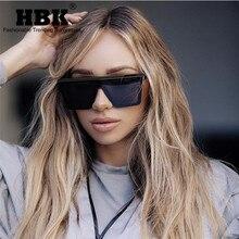 HBK Women Oversized Square Sunglasses 2019 New Fashion Brand