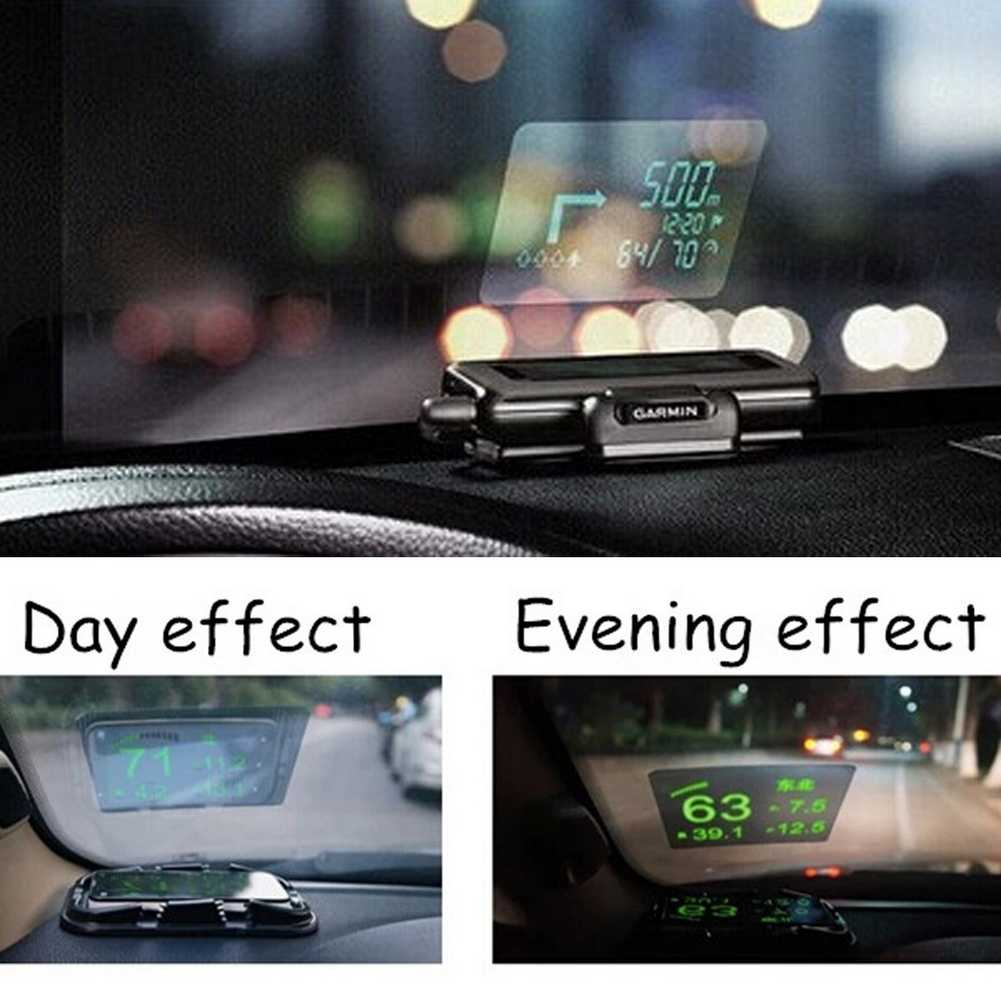 Universal Car Auto HUD  Up Display Reflective Film Protector No Mucilage Easy Removed