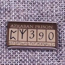 Эмалированный штифт Azkaban узника