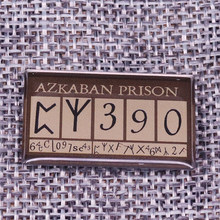 Azkaban Prisoner Plaquard Enamel Pin(China)