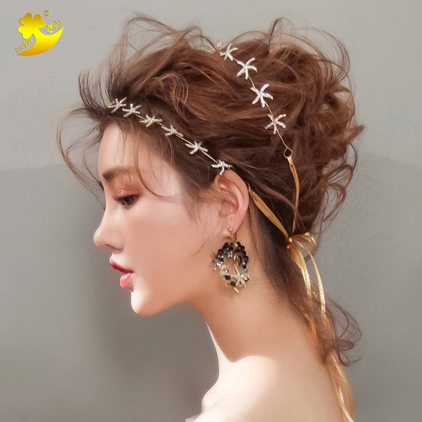 Xinyun Women Headbands Wedding Hair Jewelry Haaraccessoires Bruid Haarband Bridal Hair Crown For Hair Accessories For Hairstyles