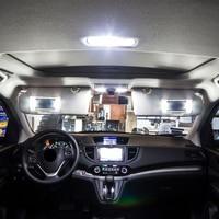 עבור הונדה crv crv Shinman 10pcs X שגיאה חינם LED הפנים חבילת ערכת אור עבור אביזרים הונדה CRV CRV 2007-2015 (5)