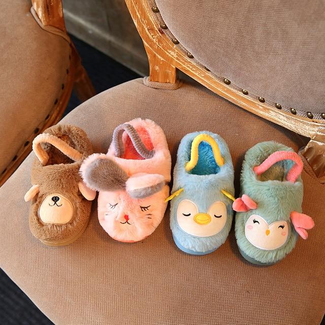 Fashion Winter New Kid Shoes Chaussure Cartoon Design Super
