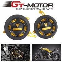 GT Motor For YAMAHA MT 07 MT07 FZ 07 FZ07 4 Color Engine Stator Side Case