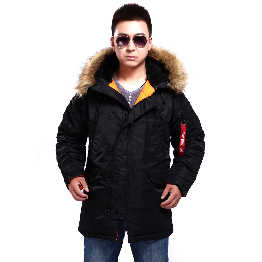 New seibertron N3B/N 3B Slim fit Parka Military Coats Winter Coat Army Clothing jacket Camping Hiking Down