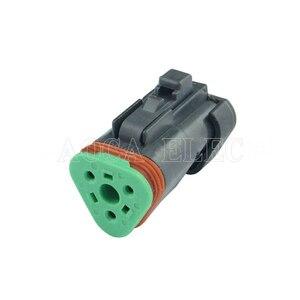 Автомобильный проводной разъем ecu, гнездовой разъем провода, предохранитель, разъем провода, автомобильная проводка, 3 pin, Клемма, DT04-03P