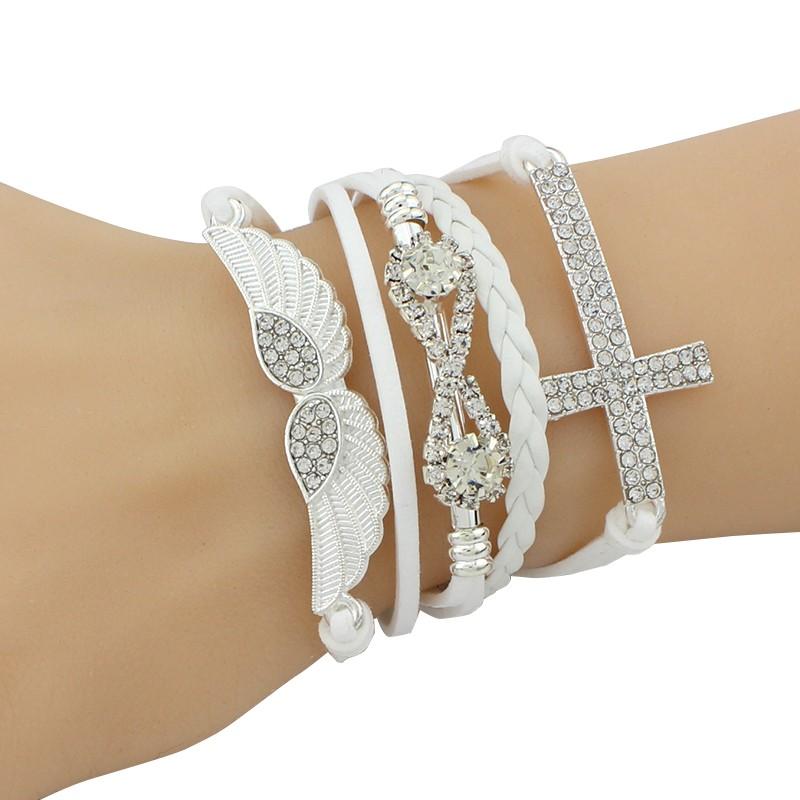 Elegant Women Friendship Infinity Bracelets