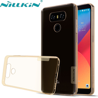 SFor LG G6 Case NILLKIN Nature Transparent TPU Soft Luxury Case For Lg G 6 Cover