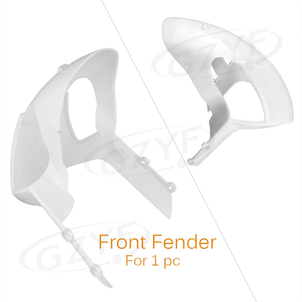 Unpainted Front Wheel Fender Mudguard Splash Extension Extender Fairing Cover For DUCATI Monster 696 08-14 & 796 10-14 Etc Model