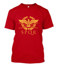 2019 Zomer Koele Mannen Tee Shirt Nieuwe Vintage Spqr Eagle Rome Latin Cool Retro Mannen Rode T-shirt Maat Grappig T-shirt bogate s бра bogate s 927 1 strotskis