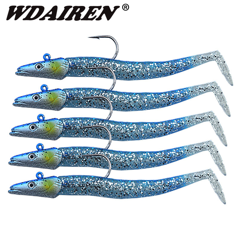 1Pcs 11cm 22g Glow Soft Lure Wobblers Artificial Bait Silicone Fishing Lure Sea Bass Carp Fishing Lead Spoon Jig Lures Tackle goture ice fishing baits metal jig drop jig grub spoon 0 6 6 2g hard artificial bait carp fishing accessories lure box 40pcs