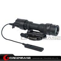 Greenbase sf m952v戦術懐中電灯デュアル出力武器ライト戦術ライフル光狩猟懐中電灯qdマウント付400ルーメン