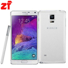 Samsung Galaxy Note 4 N910F Original Unlocked Android Mobile Phone Quad-core 3GB RAM 3G&4G GSM 5.7″ 16MP 32GB WIFI GPS