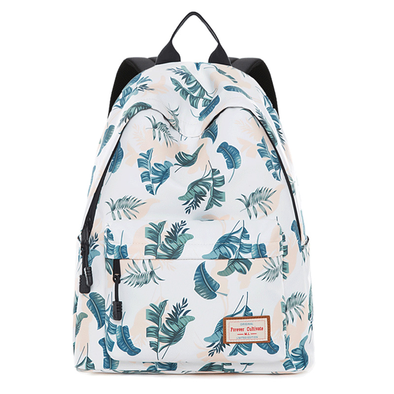 Brand New Women Laptop Backpack for Teenage Girls 2019 Mochila Feminina Canvas Breathable School Bag Soft Female Sac A Doc in Backpacks from Luggage Bags