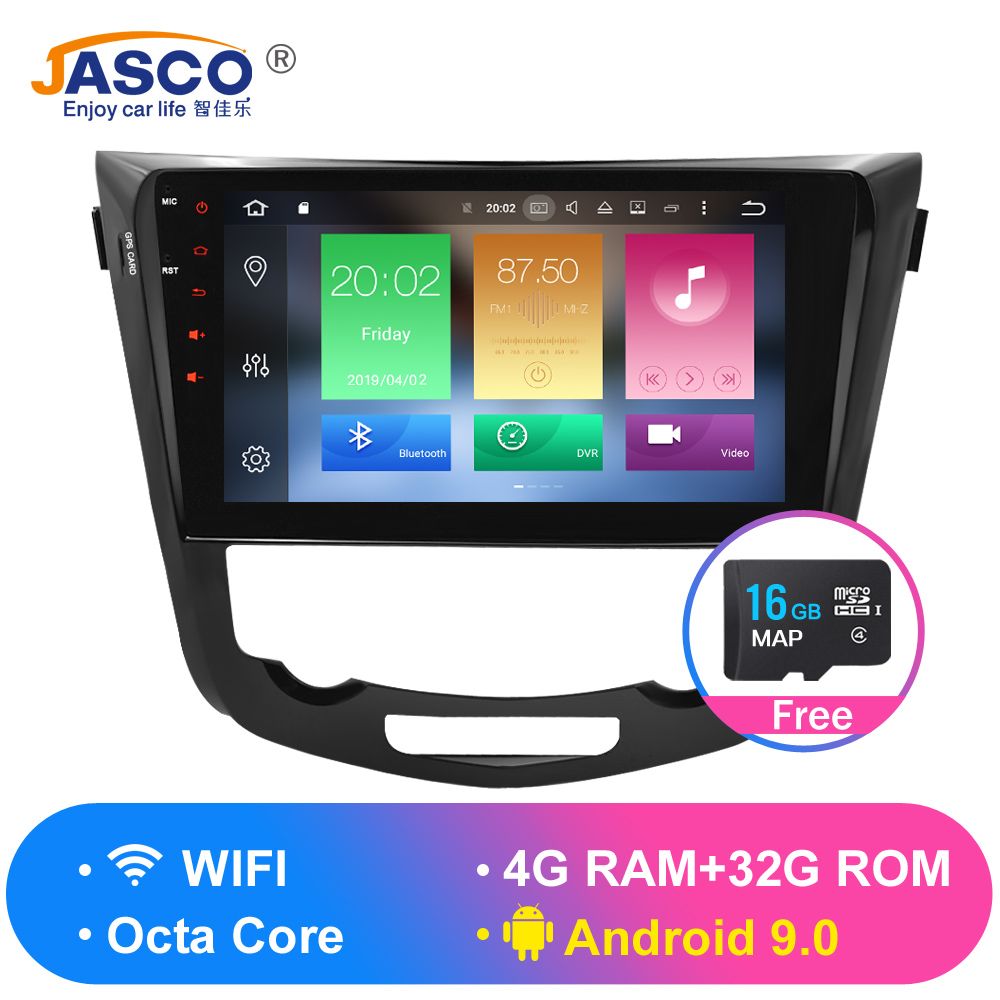 Octa Core Android 9.0 9.1 Car Radio GPS Navigation Multimedia Player Stereo For Nissan Qashqai X-Trail 2014+ 2017 Auto Audio