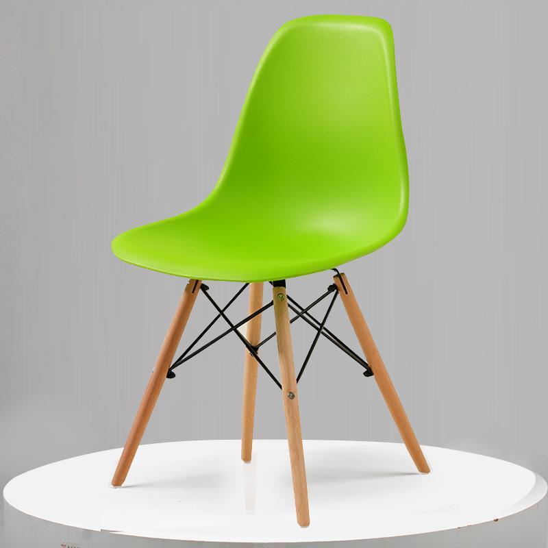 Скандинавский обеденный стол и стулья, современный минималистичный креативный компьютерный офисный стул, повседневный домашний пластиковый кофейный стул - Цвет: Style 7