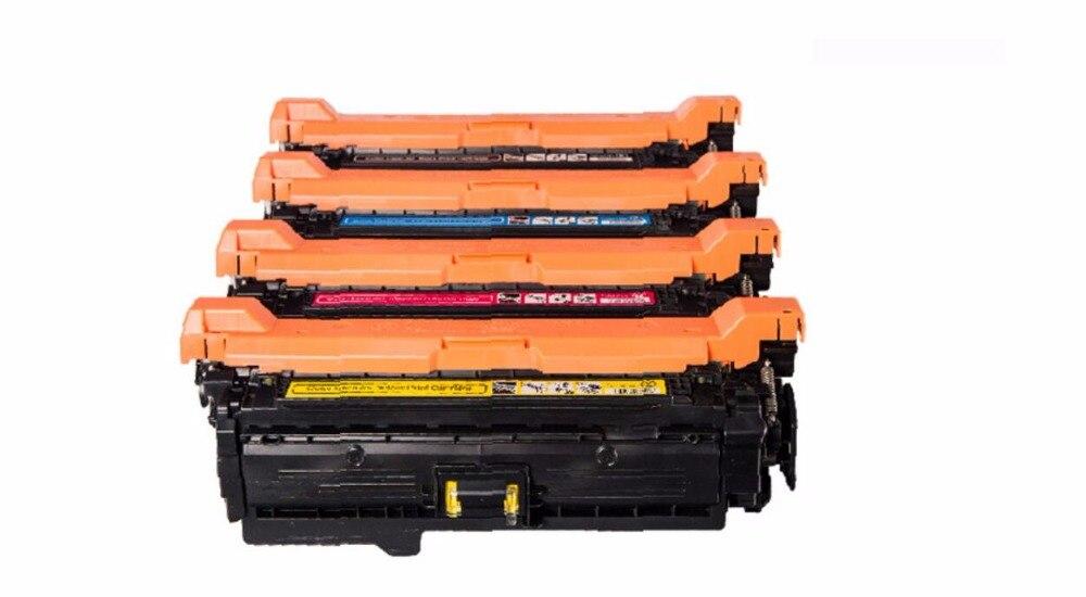 CE260A CE261A CE262A CE263A 647A 648A KCYM Toner Cartridge Compatible For HP Color LaserJet CP4025 /n/dn/ CP4525/n/dn/xh CM4540