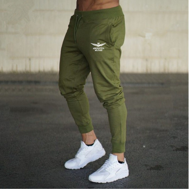 2018 AERONAUTICA MILITARES sport sweatpants man pants air force suit Italy Teenager loves outdoors clothing free shipping