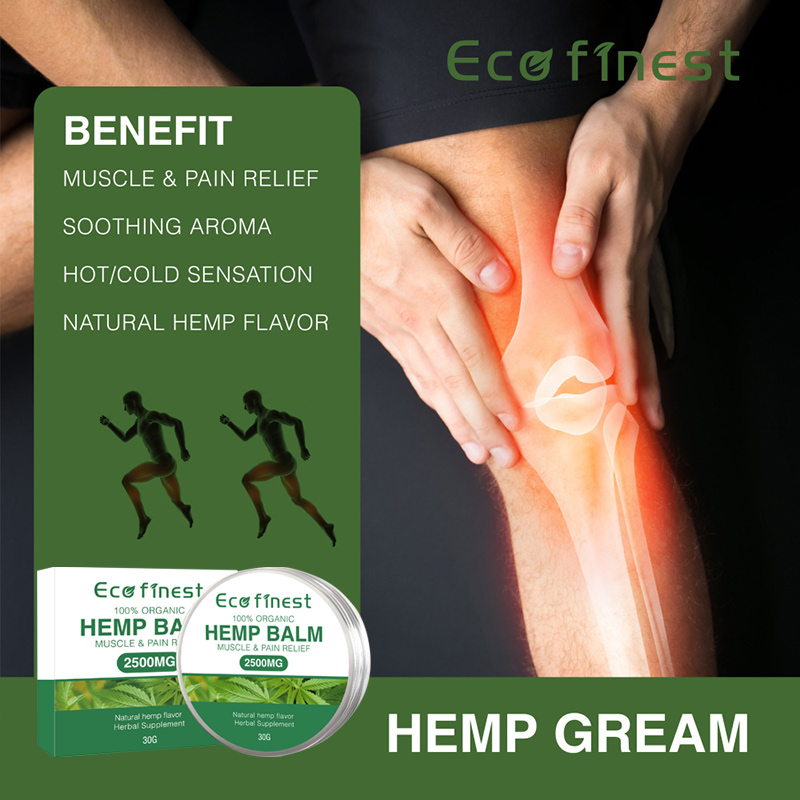 Hemp Balm Salve Cream Muscle Pain Relief with 2500mg Herbal Supplemant All-shipping
