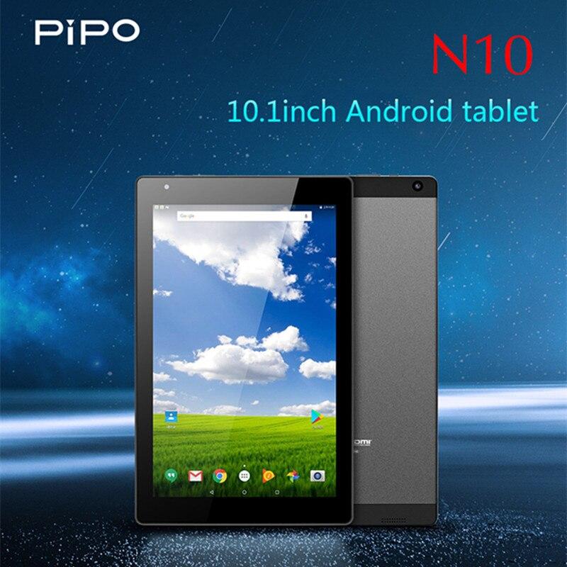 PIPO N10 tablette PC 10.1 pouces Android 7.0 MTK8163A Quad Core 1.5 GHz 2 GB RAM 32 GB tablettes WiFi HDMI 5.0MP caméra arrière 7000 mAh