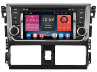 Android CAR Audio DVD Player FOR TOYOTA YARIS VIOS 2014 Gps Car Multimedia Head Device Unit