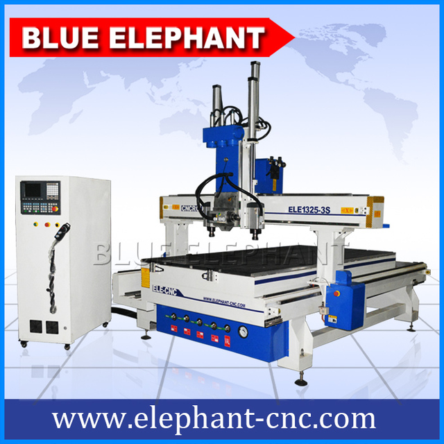 Kitchen Cabinet Door Making Machine  Multi Head CNC Router ELE1325-3s for Best Selling  sc 1 st  AliExpress.com & Kitchen Cabinet Door Making Machine  Multi Head CNC Router ELE1325 ...