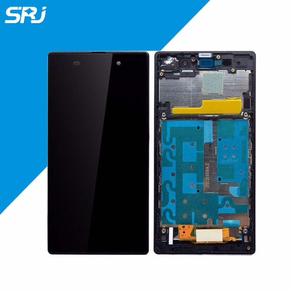 Подробнее о For Sony Xperia Z1 L39H LCD Display Touch Screen+Monitor Digitizer Glass Full Assembly With Frame Replacement Parts for sony xperia arc s lt18i lt18 x12 lcd display screen monitor digitizer touch panel screen glass assembly replacement