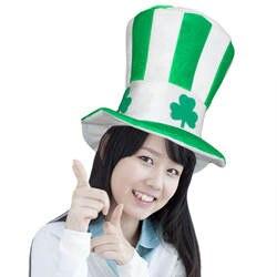 Зеленый День Св. Патрика Лепрекона Top Hat ирландский весело Святой Патрик костюм Кепки Клевер Шапки Photo Booth Опора