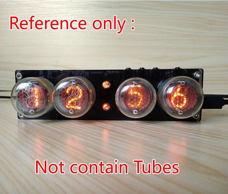 5V Digital Nixie Tube Clock QS30 1 SZ 8 ZM1020 Nixie Clock Vintage Retro Desk Table