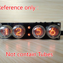 Digital Nixie Tube Clock Vintage Retro Desk Table Clock NO Tube F/ QS30-1 SZ1-1 SZ3-1 SZ-8 ZM1020 Z560M DC Boost module