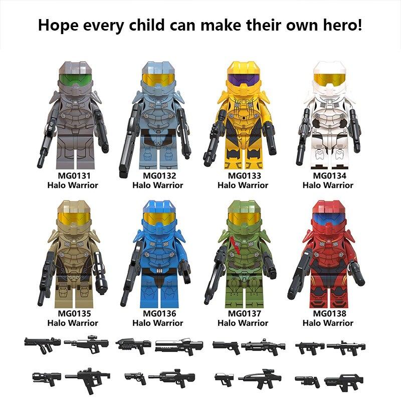 03ed4ab894ab For Legoing star wars Last Jedi Imperial light halos series Trooper  Stormtrooper building blocks STARWARS toys