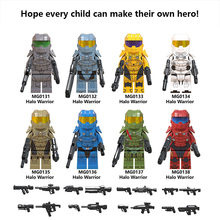 For Legoing star wars Last Jedi Imperial light halos series Trooper Stormtrooper building blocks STARWARS toys Hot sale FigureS(China)