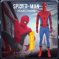 Одежда для костюмированных вечеринок Мужская паук 2019 Прохладный герой Вернуться Cos Костюмы колготки носки костюмы взрослые могут быть наст