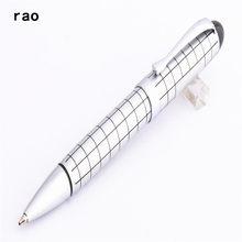 Baoer – stylo à bille blanc à pointe moyenne 79, neuf, pour bureau et affaires