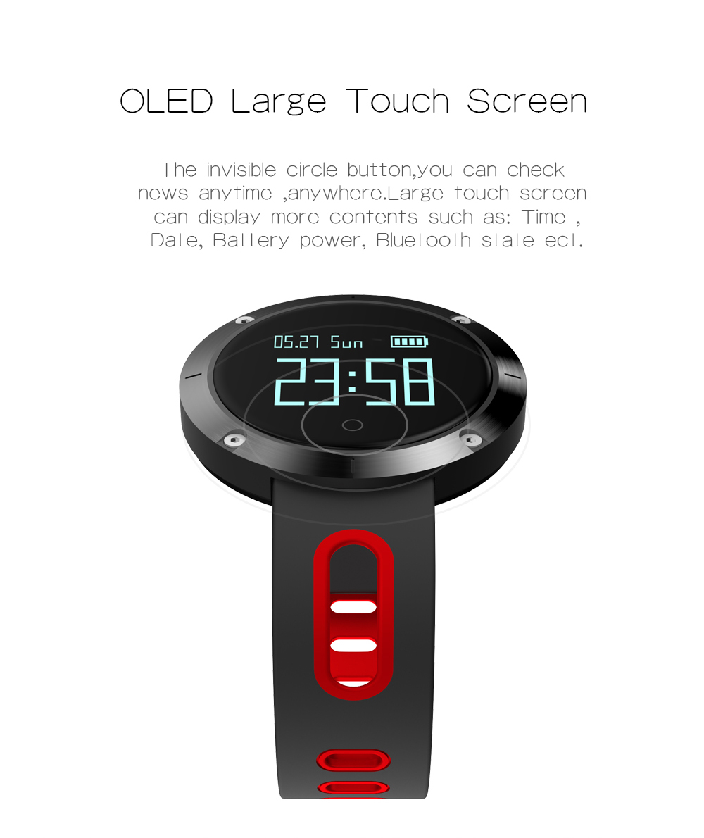 MAKIBES DM58 BLUETOOTH SPORTS HEART RATE SMART BAND WITH BLOOD PRESSURE MONITOR IP68 WATERPROOF WRISTBAND 237054 36