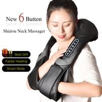 Eletrico Shiatsu Cervicale Neck Massager Massage Tools Body Massageador Acupressure Health Massagem Masaj Masajes Gua Sha