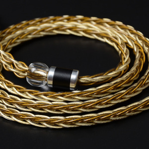 Image 3 - NICEHCK High Quality 8 Core Single Crystal Copper Silver Plated Cable 3.5/2.5/4.4mm MMCX/2Pin For LZ A7 KXXS TFZ NICEHCK NX7 MK3
