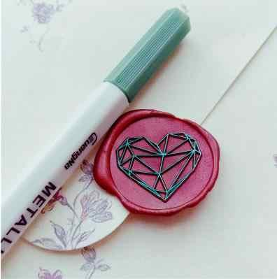Seal wax stamp ปากกาสีขี้ผึ้งซีลชุดขี้ผึ้ง mark paint ปากกาอัลบั้ม marker ปากกา graffiti ปากกาลายเซ็นสำหรับแสตมป์