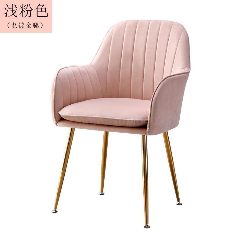 Современный дизайн, мягкий обеденный стул, модный прозрачный стул для гостиной, отдыха, мебель, стул-Лофт - Цвет: VIP 3