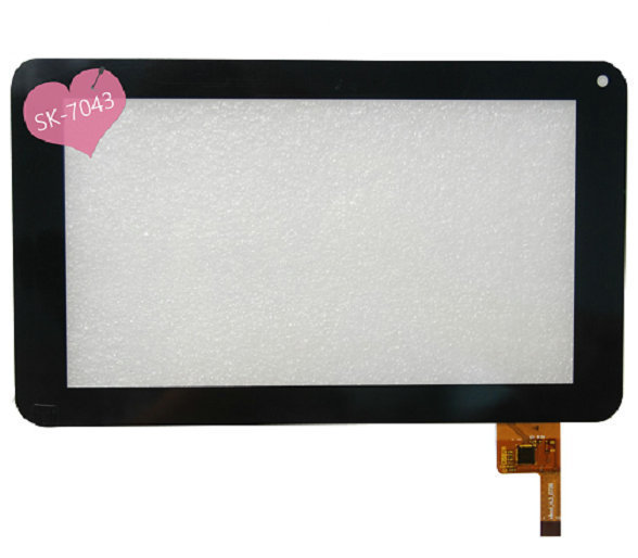 New 7 Lark FreeMe X2 7.0 Tablet Capacitive touch screen panel Digitizer Glass Sensor Replacement Free Shipping new capacitive touch panel 7 inch mystery mid 703g tablet touch screen digitizer glass sensor replacement free shipping
