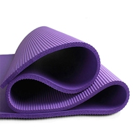 Chastep Thick Exercise Yoga Mats Pad Non-Slip Lose Weight Exercise Fitness Folding Gymnastics Mat for Fitness Women Men Yoga