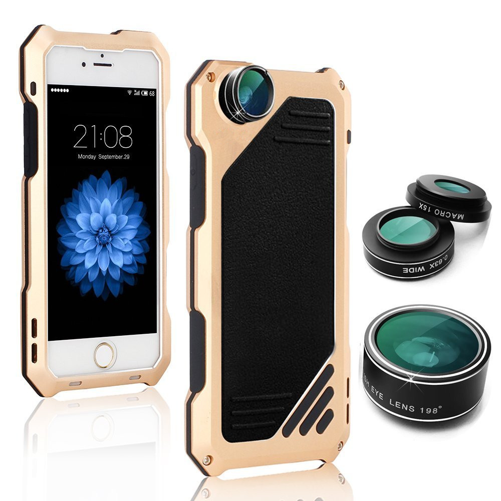 Alysha 98omrsqiuj475 Skup Tanie Hybrid Armor Case For Iphone 5s 5 Aluminum Metal Cover With Camera Lens Kit Se Shockproof Phone Coque Funda Cena