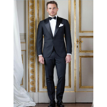 Black Formal Men Suit Blazers Male Set Latest Coat Pant Design Mens Suits With Pants Wedding Groom terno masculino+Trousers+Tie